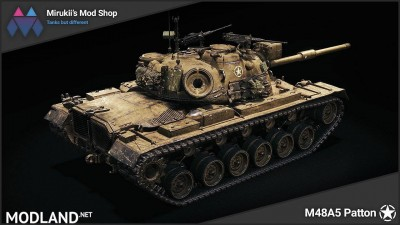 Mirukii's M48A5 Patton Remodel [1.5.1.0], 2 photo